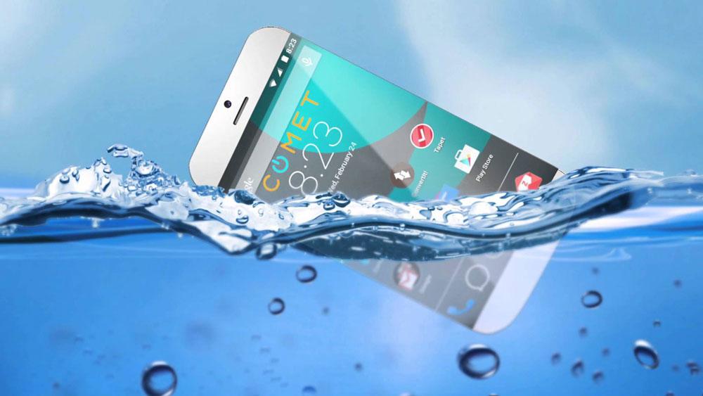 گوشی هوشمند ضد آب