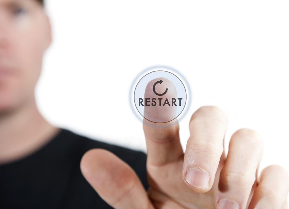 reset. run-Restart.reboot
