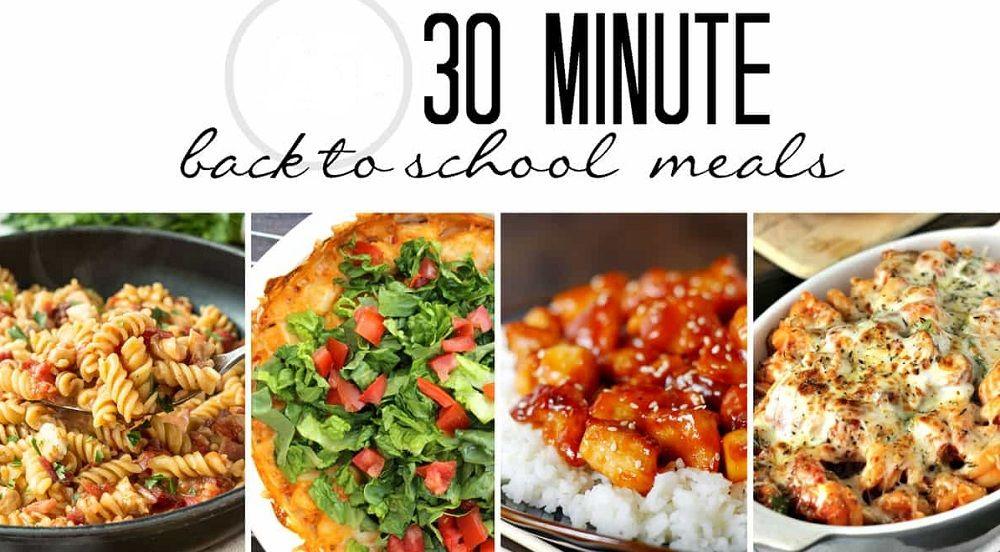 غذای 30دقیقه ای