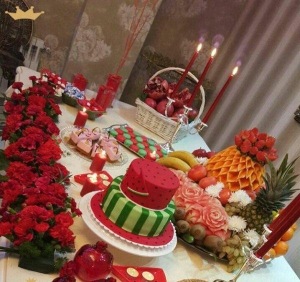 شب یلدا عروس