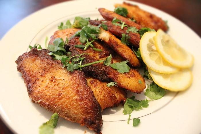 طبخ ماهیها ازون برون