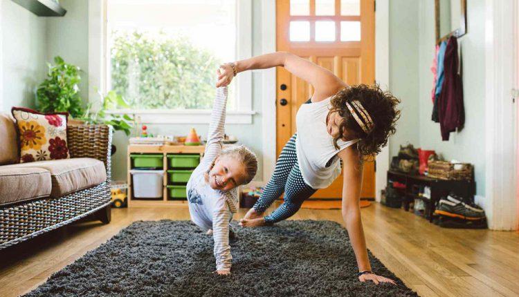 ورزش های لاغری در خانه