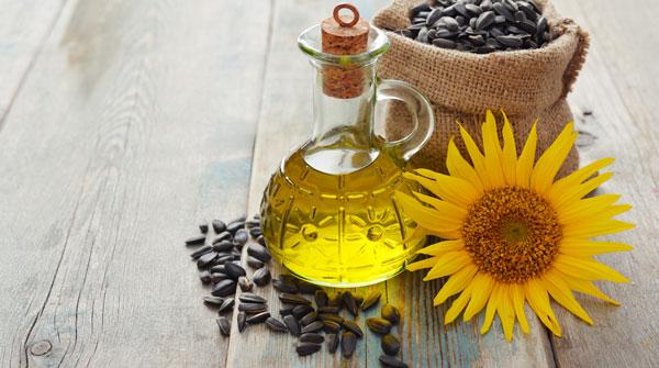 درمان خشکی پوست با روغن آفتابگردان