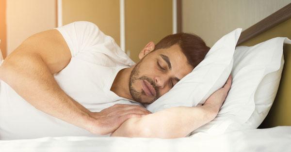 نحوه صحیح خوابیدن
