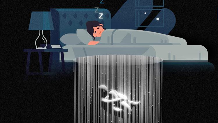 علت پریدن از خواب