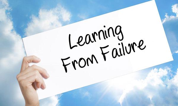 علت شکست کسب و کارها