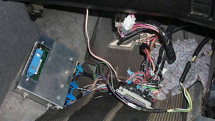 خرابی کامپیوتر خودرو PCM
