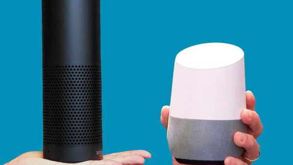 مقایسه بلندگوهای هوشمند آمازون اکو و گوگل هوم